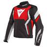 DAINESE Edge Tex Sommer Motorradjacke schwarz rot weiß Gr. 58 UVP 199,95 Euro