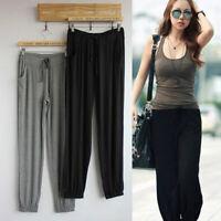 Plus Size Loose Explicit Thin Pant Casual Sports Pants Yoga Pants Women Trousers