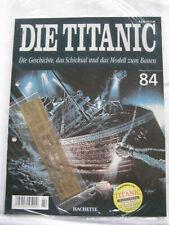 Hachette Die Titanic Bausatz Heft 84 original und ungeöffnet