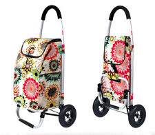 D89 Rugged Aluminium Luggage Trolley Hand Truck Folding Foldable Shopping Cart
