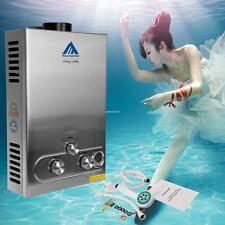 8L 2800Pa LPG Propane Gas Water Heater Warmwasserbereiter Heißwasserboiler