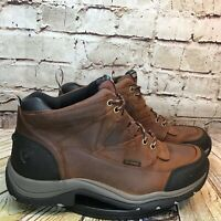 Ariat Advanced Torque Stability Mens Brown Waterproof Soft Toe Work Boots 9 D