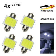 4x 31MM COB LED SMD COCHE SUPER BRILLANTE C5W 5050 INTERIOR MATRICULA LECTURA