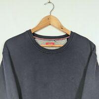 IZOD Navy Blue Long Sleeve Sweatshirt Jumper - Mens XL