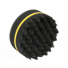 Soft Magic Fiber Sponge Wave Barber Hair Brush Dreads Afro Locs Twist Curls Coil