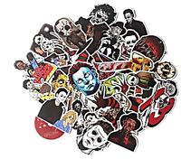 Classic Horror Movies Themed Set of 37 Assorted Sticker Set