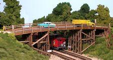 Monroe Models HO Scale Trains 2007 Country Road Bridge Model Railroad Kit