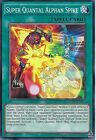 YU-GI-OH CARD: SUPER QUANTAL ALPHAN SPIKE - RATE-EN063