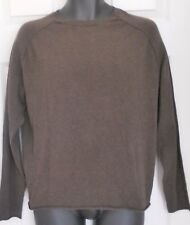 Mans Long Sleeved Sweater Small Brown BANANA REPUBLIC Great Condition