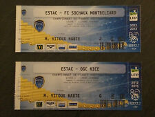 LOT TICKETS FOOTBALL ESTAC TROYES 2012/2013