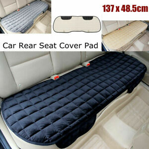 Universal Rear Car Back Seat Cover Full Protector Non Slip Mat Pad Chair Cushion