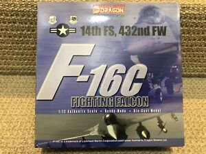 Dragon Wings-Warbirds 1:72 F-16 Fighting Falcon, 14th FS, 432nd FW, No. DRA50005