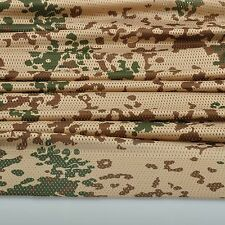 "2-YARDS Germany Desert Camouflage Net Cover Army Military 60""W Mesh Fabric Cloth"