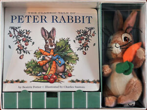 The Peter Rabbit Gift Boxed Set by Beatrix Potter (Board Book + plush toy)