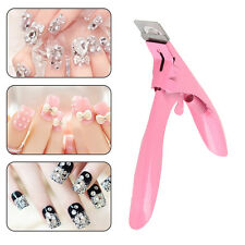 Nail Cutter Stainless Steel Nail Clipper Acrylic Gel False Nail Tip Cutter Clipp