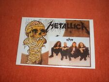 CARTE POSTALE METALLICA One POST CARD 80's   - vintage / not reprinted