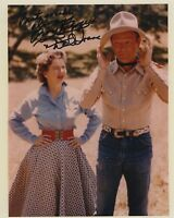 ROY ROGERS AND DALE EVANS SIGNED AUTOGRAPHED COLOR PHOTO