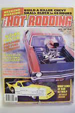 POPULAR HOT RODDING DAYTONA TURBO Z T BUCKET NOVA ROUTE 66 BOB TEITZ OPEL FIERO