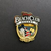 WDW - Disney's Beach Club Resort Logo - Mickey Relaxing Disney Pin 88776