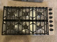 New listing Viking 5 Series 36in Gas Cooktop with 6 Sealed Burners Vgsu53616Bss