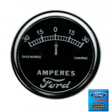 1928-31 Model 'A' Ammeter Gauge, 30-0-30 Scale With Ford Script