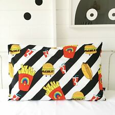 NEW Love Frankie Junk Food Pillow Case