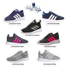 Adidas Lite Racer Sneakers Uomo Donna Bambino Bambina Scarpa Sport Casual Shoes