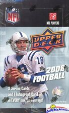 2008 Upper Deck Football MASSIVE Factory Sealed HOBBY Box-4 AUTOGRAPH/MEM+68 RC