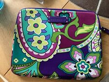 Vera Bradley Neoprene Tablet Ipad Padded Sleeve Heather (Retired)