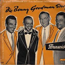 45TRS VINYL 7''/ GERMAN EP BO FILM BENNY GOODMAN STORY / HAMPTON KRUPA WILSON