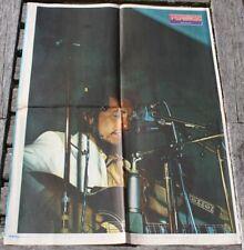 poster affiche magazine revue  Rock BOB DYLAN 59x43cm