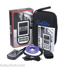 C110 OBD2 EOBD Scanner Airbag ABS SRS Diagnostic Fault Code Scan Reader For BMW
