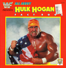 HULK HOGAN FACT BOOK 1991 Pro Wrestling RARE Hogan Warrior Slaughter