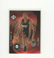 "2003/04 Upper Deck Standing ""O"" Dwyane Wade Rookie Card MIAMI HEAT! RARE RC #89"