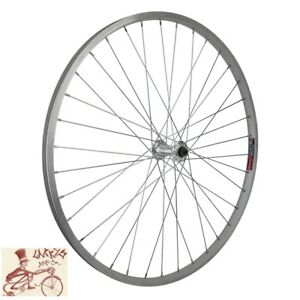 """WHEEL MASTER WEI 519  BOLTED 27.5"""" ALLOY SILVER FRONT WHEEL"""