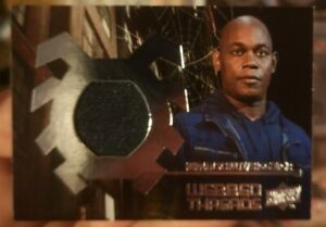 Spider-Man Homecoming Upper Deck 2017 Webbed Threads Movie Memorabilia Card WTS2