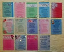 In Loving Memory  Laminated Graveside-Memorial Tribute Cards With Verse.