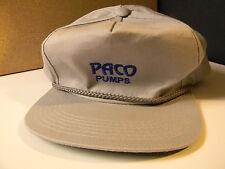 CAP VINTAGE yet NEW UNUSED PACO PUMPS CAP