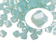 25 Swarovski Crystal Beads # 5328 Pacific Opal  6MM