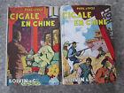 Paul D'Ivoi Cigale en Chine 2 Volumes