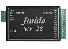 MULTIFUNCTION USB Data Acquisition 24bit ADC DIOs AIOs Free Software and Driver
