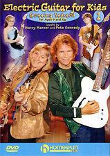 Aprende Guitarra Eléctrica Para Niños comenzar Dvd 1