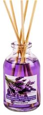 LAVENDER SCENTED ESSENTIAL OIL ROOM AIR FRESHENER REED DIFFUSER + STICKS 30ml