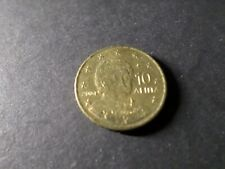 GRECE PIECE de 10 ct centimes d EURO 2004, TB, VF COIN