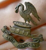 Liverpool Pals Army Cap Badge – Sans Changer Badge BRASS 2 Lugs ANTIQUE Org