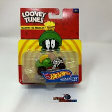 Marvin The Martian * Looney Tunes Character Cars Hot Wheels * T4