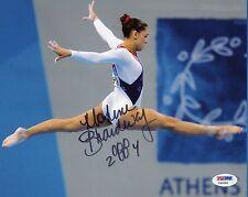 Mohini Bhardwaj 8x10 Photo Signed Autographed Auto PSA DNA Olympis Gymnast Gold