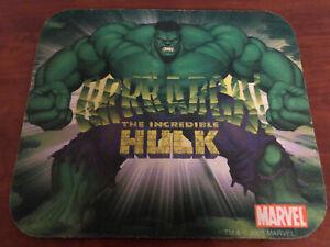 Hulk Mousepad Marvel 2003 Incredible Hulk Mouse Pad Green