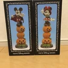 TDL Limited DisneyLand Mickey Minnie Figure figurine 30th Anniversary Helloween