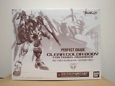 P Bandai MOBILE SUIT GUNDAM OO PG 1/60 CLEAR COLOR BODY for TRANS-AM RAISER
